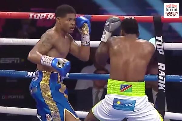 Imagen del combate Shakur Stevenson vs. Jeremiah Nakathila