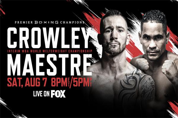 Cartel promocional del evento Cody Crowley vs. Gabriel Maestre