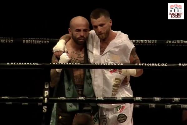 Francesco Grandelli (derecha) y Antonio Rodríguez (izquierda)