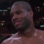 Daniel Dubois sonríe tras victoria ante Joe Cusumano