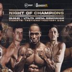 Cartel promocional del evento Akeem Ennis-Brown vs. Sam Maxwell