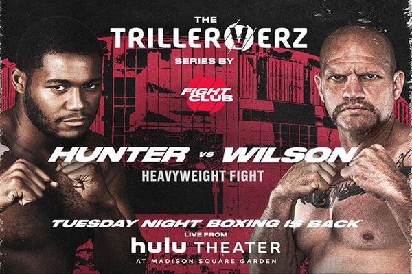 Cartel promocional del evento Michael Hunter vs. Mike Wilson