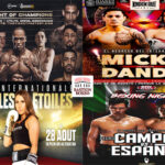 Mosaico de los mejores combates de la semana (26al29-8-2021)