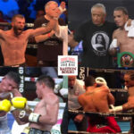 Mosaico de los resultados de los mejores combates de la semana (26al29-8-2021)