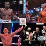 Mosaico de los resultados de los mejores combates de la semana (28-31-7-2021)