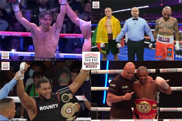 Resultados de los mejores combates de la semana (3al7/8/2021)