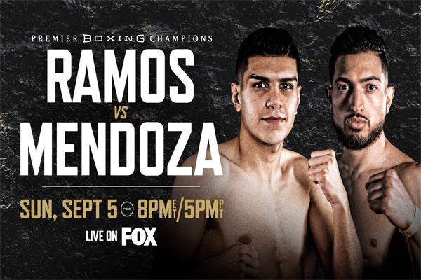 Cartel promocional del evento Jesús Ramos vs. Brian Mendoza