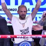Vincenzo Picardi después de su victoria ante Cristian Zara