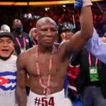 Yordenis Ugás tras su victoria ante Manny Pacquiao