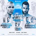 Cartel promocional del evento Chris Eubank Jr. vs. Sven Elbir