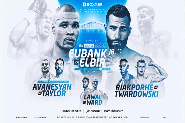 Previa: David Avanesyan, Chris Eubank Jr., Germaine Brown, Riakporhe, etc. en el inicio de la nueva etapa de Sky en el boxeo