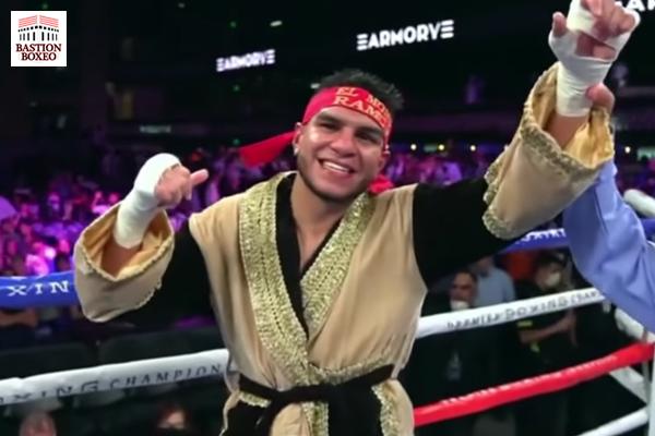 Jesús Ramos tras su victoria ante Brian Mendoza