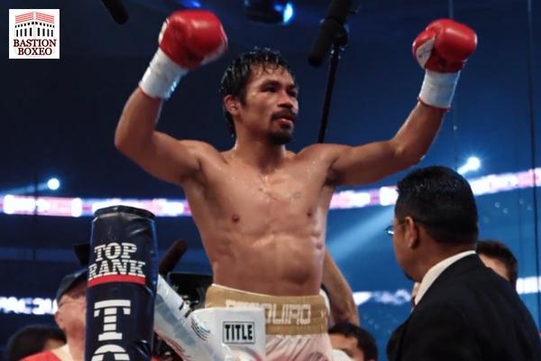 Manny Pacquiao anuncia oficialmente su retiro definitivo del boxeo profesional activo (Vídeo)