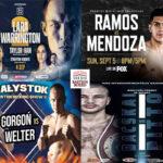Mosaico de los mejores combates de la semana (3al5-9-2021)