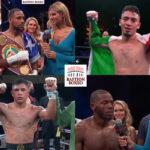 Mosaico de los resultados de los mejores combates de la semana (14al19-9-2021)