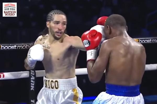Nico Ali Walsh, nieto de Muhammad Ali, conecta jab contra James Westley II